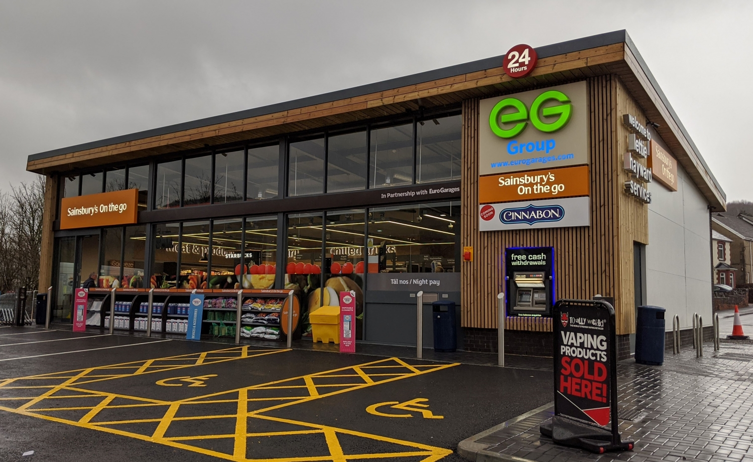 EG Group - Sainsbury's On the go - nationwide