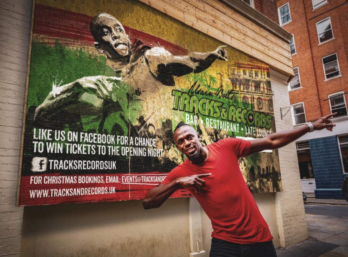 Usain Bolts Tracks & Records